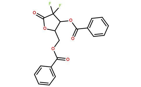 2-脱氧-2,2-二氟戊呋喃糖-1-酮  3,5-二安息香酸盐