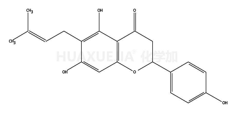 5,7,4'-trihydroxy-6-prenylflavanone