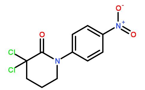 3,3-二氯-1-(4-硝基苯基)-2-哌啶酮