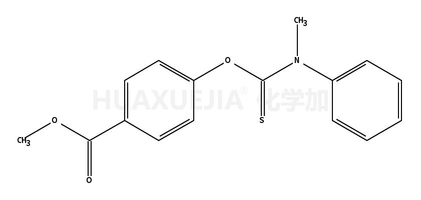 O-(4-methoxycarbonylphenyl) N-methyl-N-phenyl thiocarbamate