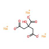 柠檬酸钠, 无水