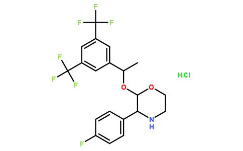 (2R,3S)-2-[(1R)-1-[3,5-双(三氟甲基)苯基]乙氧基]-3-(4-氟苯基)-吗啉盐酸盐
