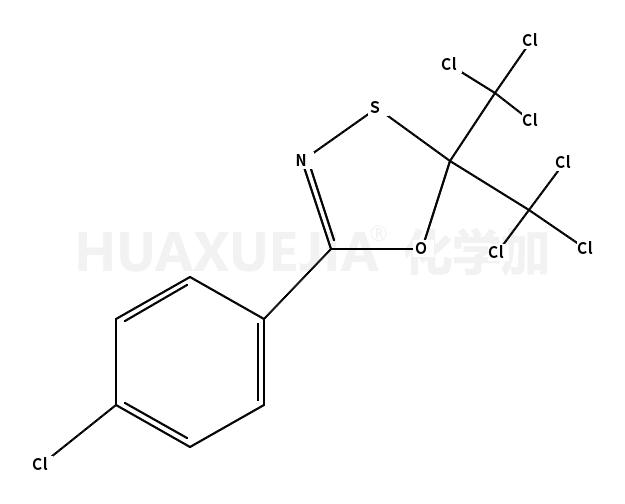 2,2-bis(trichloromethyl)-5-(p-chlorophenyl)-1,3,4-oxathiazole
