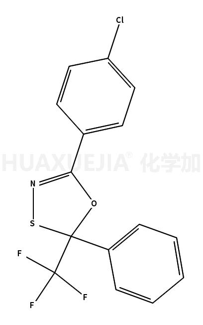 5-(p-chlorophenyl)-2-phenyl-2-trifluoromethyl-1,3,4-oxathiazole