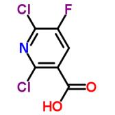 2,6-二氯-5-氟烟酸