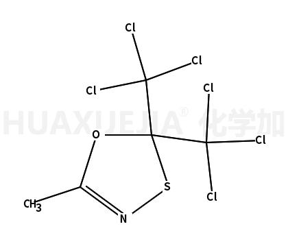 2,2-bis(trichloromethyl)-5-methyl-1,3,4-oxathiazole