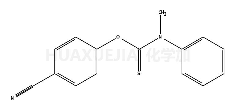 Carbamothioic acid, methylphenyl-, O-(4-cyanophenyl) ester