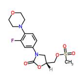 (R)-N-[3-(3-氟-(4-吗啉基)苯基)-2-氧代-5-唑烷基]甲醇甲磺酸酯