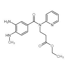 N-[3-氨基-4-(甲基氨基)苯甲酰基]-N-2-吡啶-β-丙氨酸乙酯