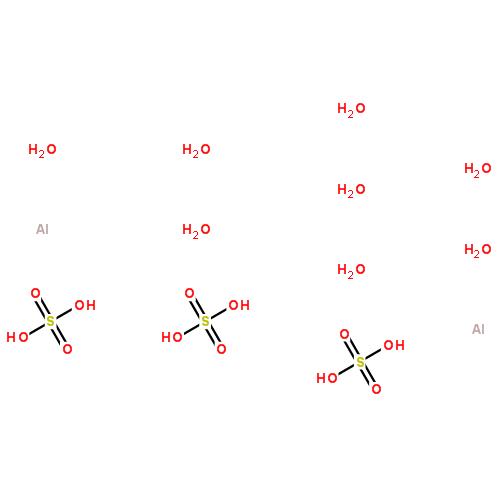 硫酸铝十六水