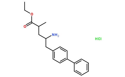 (2R,4S)-5-([1,1'-联苯]-4-基)-4-氨基-2-甲基戊酸乙酯盐酸盐
