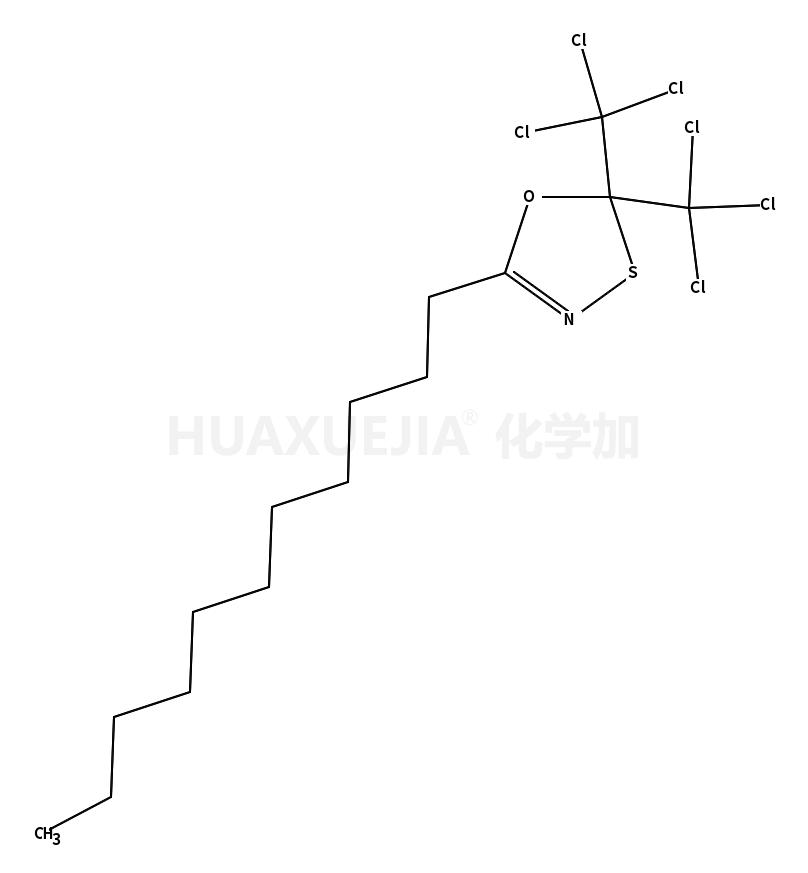 2,2-bis(trichloromethyl)-5-undecyl-1,3,4-oxathiazole
