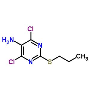 4,6-二氯 -2-(丙硫基)-5-氨基嘧啶