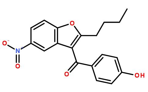 2-丁基-3-(4-羟基苯甲酰基)-5-硝基苯并呋喃