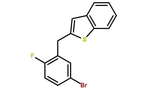 2-(5-Bromo-2-fluorobenzyl)benzothiophene