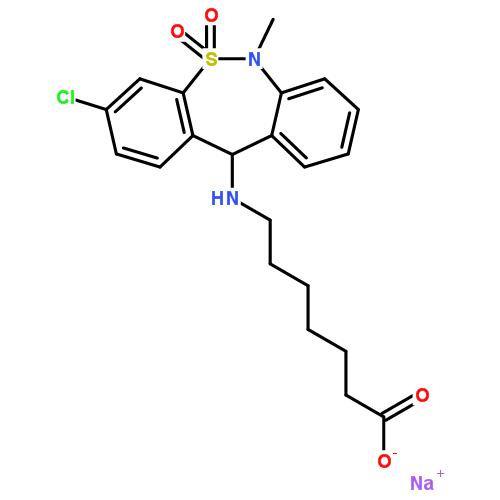 噻奈普汀钠盐