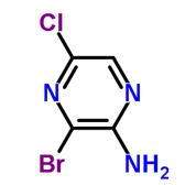2-Amino-3-bromo-5-chloropyrazine