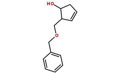 (1S-反式)-2-[(苯甲氧基)甲基]-3-环戊烯-1-醇
