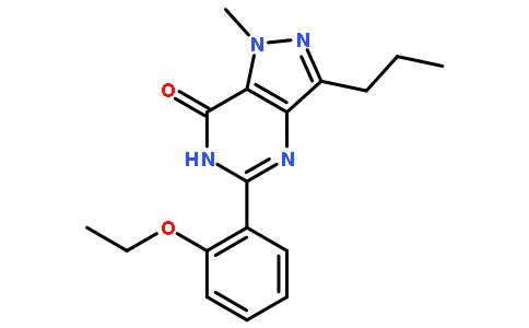 5-(2-Ethoxyphenyl)-1-methyl-3-propyl-1,6-dihydro-7H-pyrazolo[4,3-d]-7-pyrimidinone