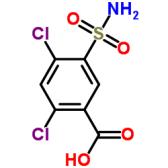 2,4-Dichloro-5-sulfamoylbenzoic acid