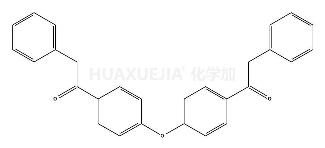 2-phenyl-1-[4-[4-(2-phenylacetyl)phenoxy]phenyl]ethanone