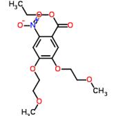 Ethyl 4,5-bis(2-methoxyethoxy)-2-nitrobenzoate