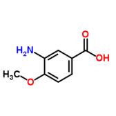 3-氨基-4-甲氧基苯甲酸