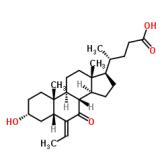 (E)-3α-羟基-6-亚乙基-7-酮-5β-胆烷-24-酸