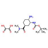 tert-Butyl [(1R,2S,5S)-2-amino-5-[(dimethylamino)carbonyl]cyclohexyl]carbamate oxalate