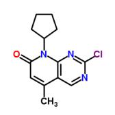 2-氯-8-环戊基-5-甲基-8H-吡啶并[2,3-D]嘧啶基-7-酮