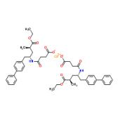 (αR,γS)-γ-[(3-羧基-1-氧代丙基)氨基]-α-甲基联苯-4-戊酸乙酯钙盐