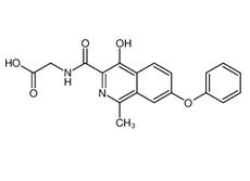 N-[(4-羟基-1-甲基-7-苯氧基-3-异喹啉)羰基]甘氨酸