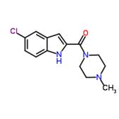 1-[(5-氯-1H-吲哚-2-基)羰基]-4-甲基哌嗪