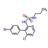 N-[5-(4-溴苯基)-6-氯-4-嘧啶基]-N'-丙基氨基磺酰胺