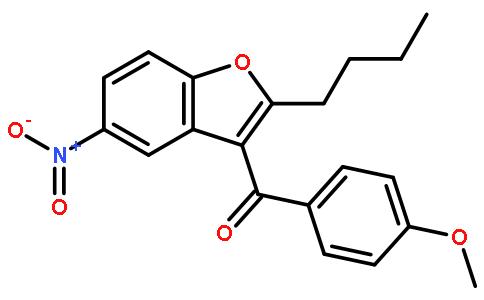 (2-Butyl-5-nitrobenzofuran-3-yl)(4-methoxyphenyl)methanone