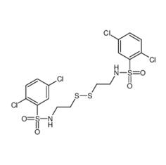 N,N'-(亚二硫基双-2,1-乙二基)二[2,5-二氯苯磺酰胺]