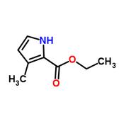 3-甲基-1H-吡咯-2-甲酸乙酯
