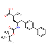 (2R,4S)-5-([1,1-biphenyl]-4-yl)-4-((tert-butoxycarbonyl)amino)-2-methylpentanoic acid