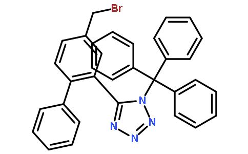 N-(三苯基甲基)-5-(4'-溴甲基联苯-2-基)四氮唑