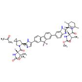 雷迪帕韦单丙酮溶剂化物