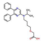 [4-[(5,6-二苯基吡嗪基)(1-甲基乙基)氨基]丁氧基]乙酸