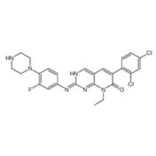 6-(2,4-Dichlorophenyl)-8-ethyl-2-{[3-fluoro-4-(1-piperazinyl)phen yl]amino}pyrido[2,3-d]pyrimidin-7(8H)-one