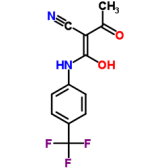 2-Cyano-3-hydroxy-N-(4-trifluoromethylphenyl)crotonamide