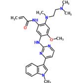 N-[2-[[2-(二甲基氨基)乙基]甲基氨基]-4-甲氧基-5-[[4-(1-甲基-1H-吲哚-3-基)-2-嘧啶基]氨基]苯基]-2-丙烯酰胺