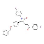 (3R,4S)-4-[4-(苄氧基)苯基]-1-(4-氟苯基)-3-[3-(4-氟苯基)-3-氧代丙基]氮杂环丁烷-2-酮