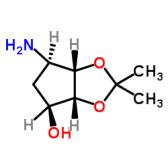 (3AR,4S,6R,6AS)-6-氨基四氢-2,2-二甲基-4H-环戊烯并-1,3-二氧杂环戊烷-4-醇