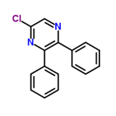 5-氯-2,3-二苯基哌嗪
