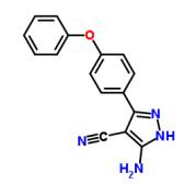 3-氨基-5-(4-苯氧基苯基)-4-氰基-1H-吡唑
