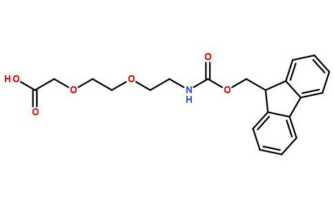 [2-[2-(Fmoc-氨基)乙氧基]乙氧基]乙酸