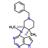 N-Methyl-N-[(3R,4R)-4-methyl-1-(phenylmethyl)-3-piperidinyl]-7H-pyrrolo[2,3-d]pyrimidin-4-amine
